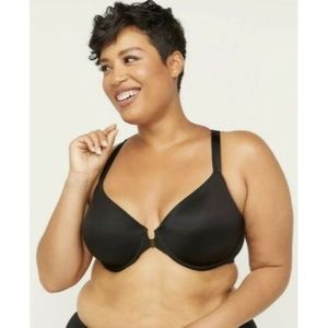 Catherines Front Close Underwire T-Shirt Bra 48B